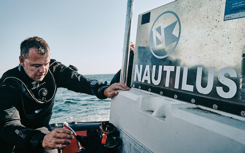Image d'entête de la page Les Aventures de Plongée Nautilus