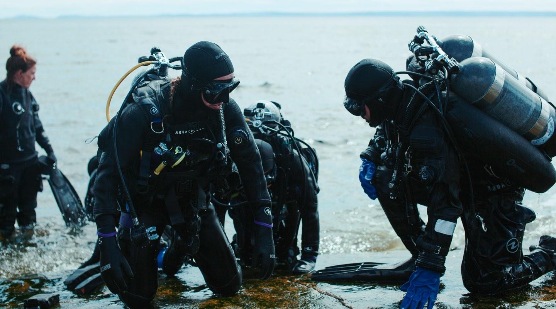 Image d'ambiance de la page Formations de Plongée Nautilus.